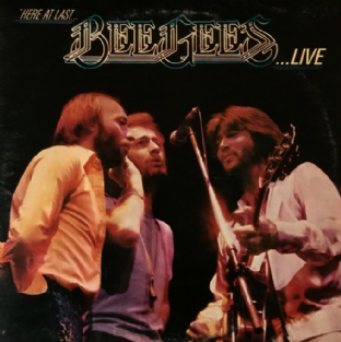 Bee Gees ‎- Here At Last... Bee Gees... Live (LP) (G-/G)